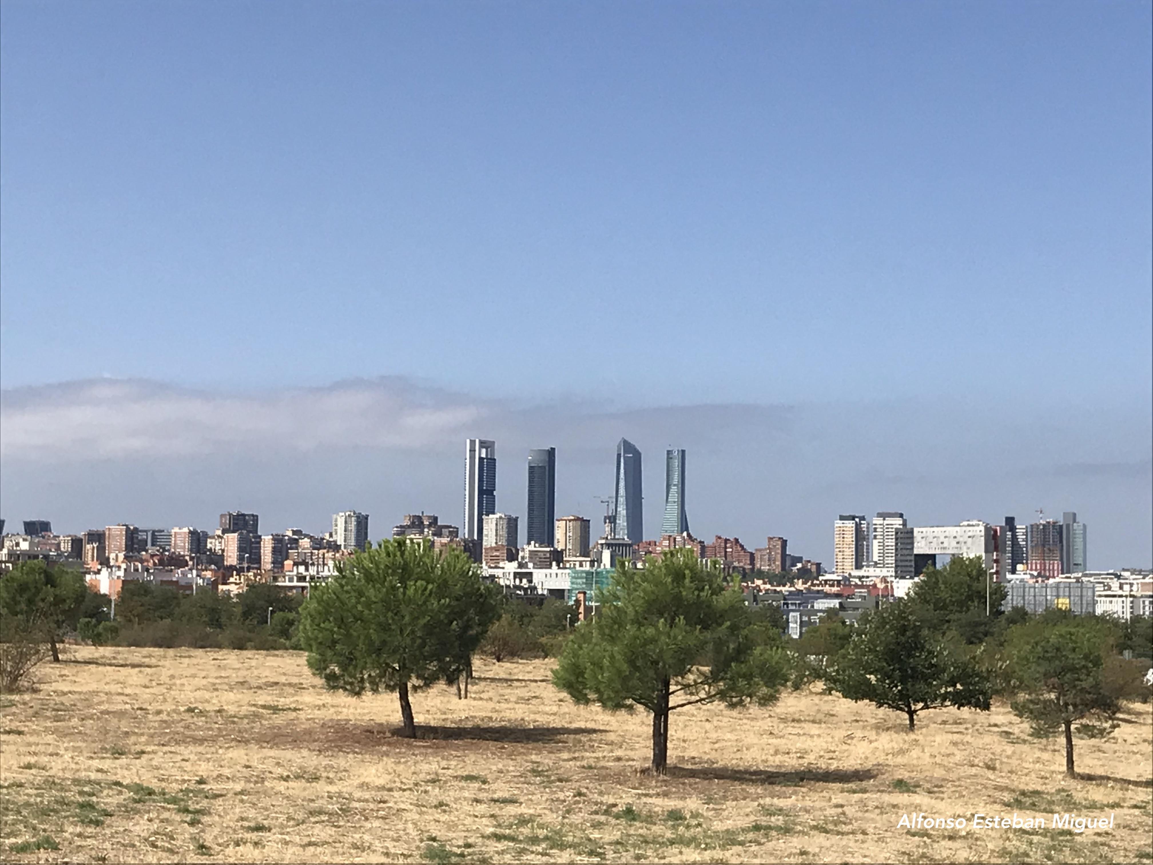 Fotografía de la ciudad de Madrid